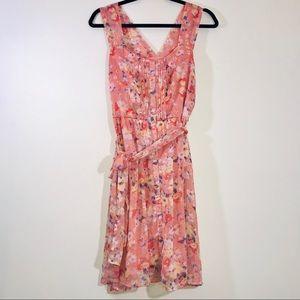 LC Lauren Conrad Floral Sun Dress - #1270